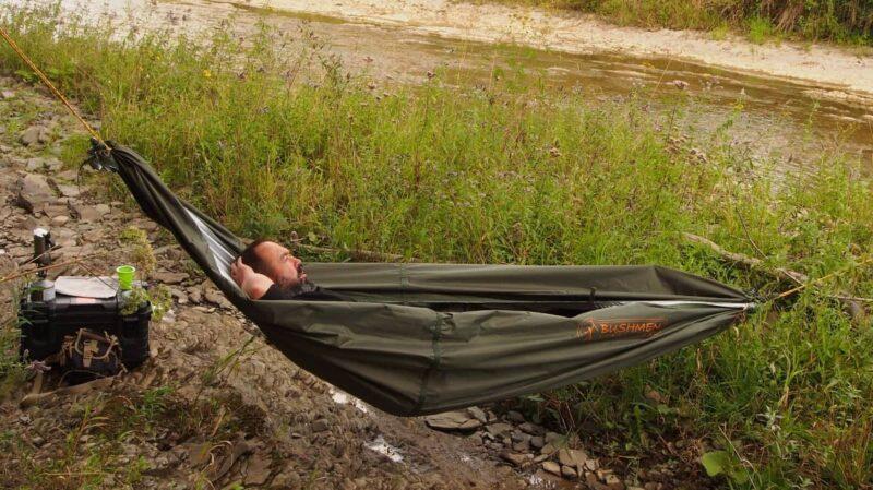 Thermo-tarp jako hamak