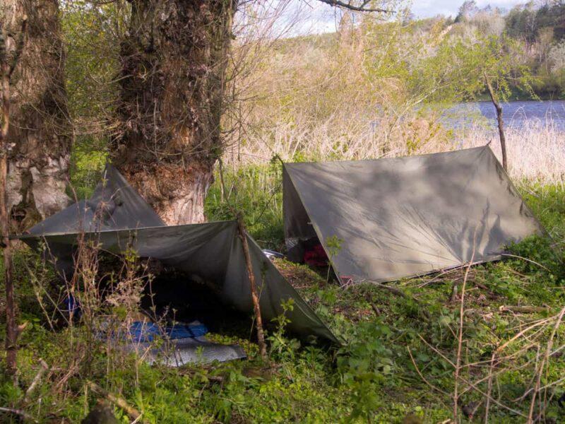 BUSHMEN Thermo-tarp - tent