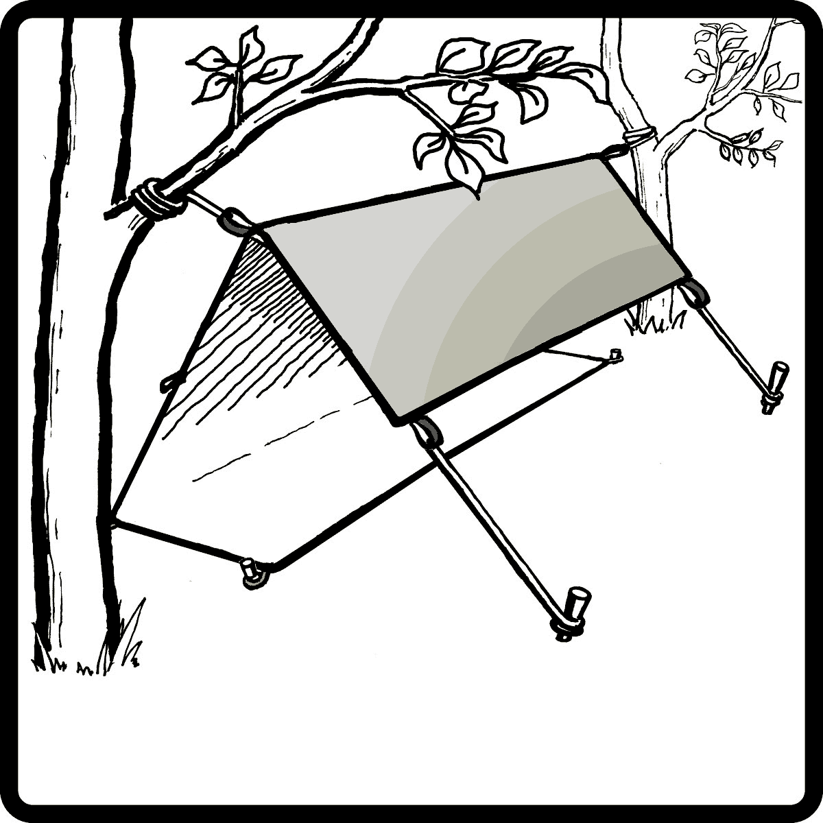 Tarpology Know How How To Set Up A Shelter In The Wild