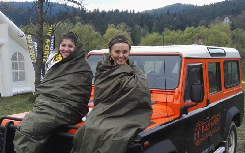 BUSHMEN Thermo-Tarp - lifesaving tarp with an insulating layer