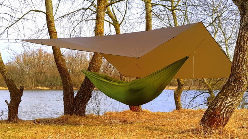 ULTRALIGHT tarp & ULTRALIGHT hammock ZEN