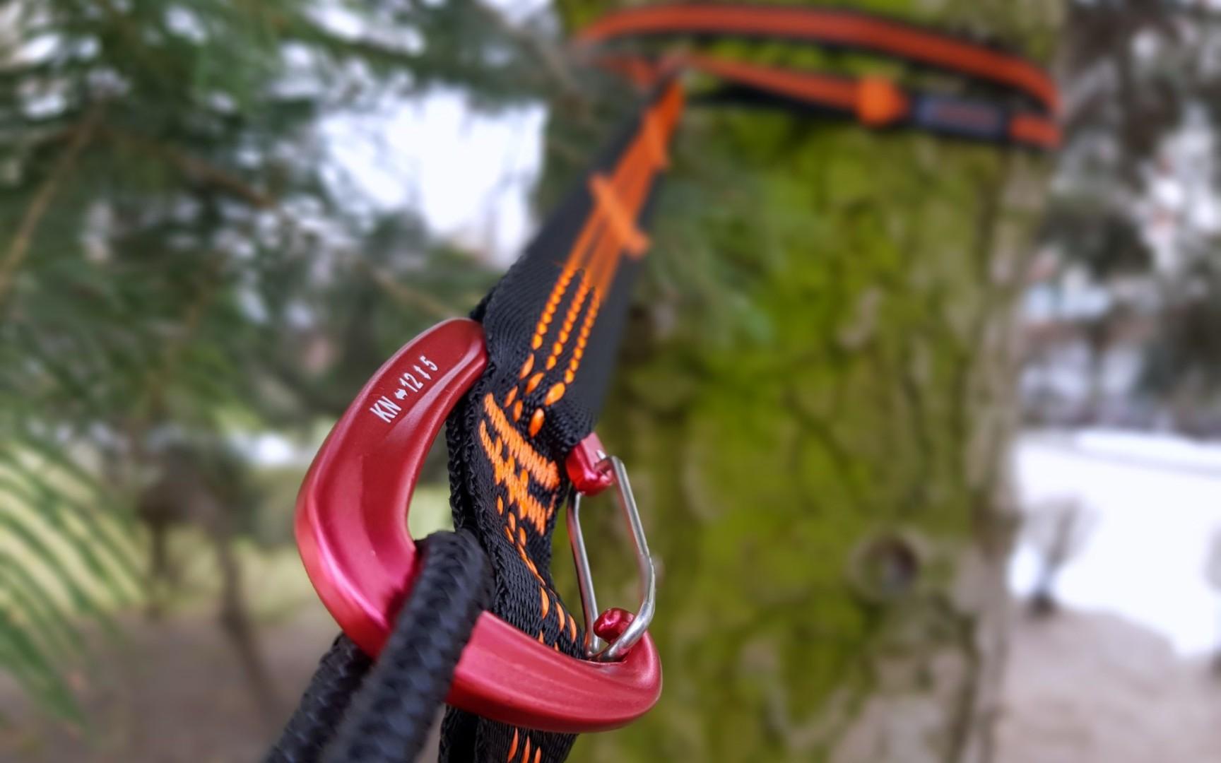 Bushmen hammock suspension system easy