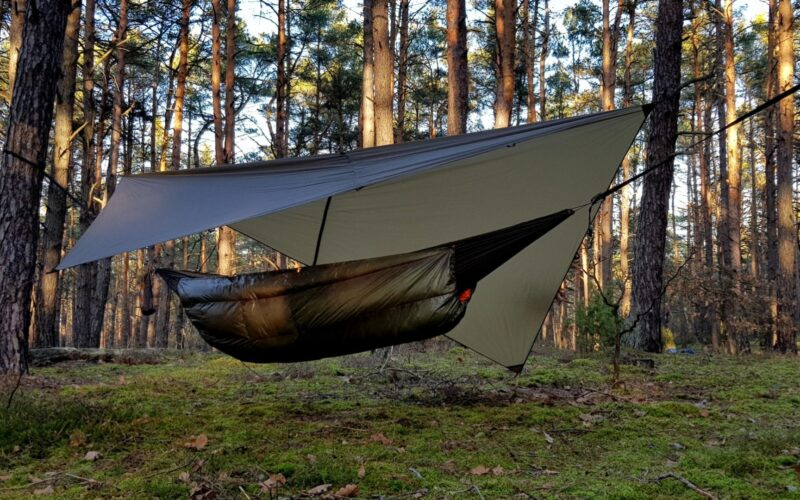 Ultralight tarp 3x2